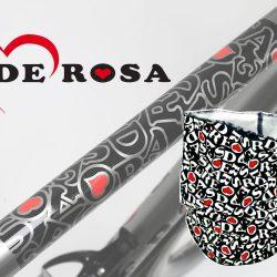DE ROSAから新柄のネックウォーマーが入荷しました。