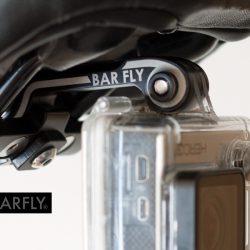 サドルバッグを取り付けられるアクションカメラマウントです