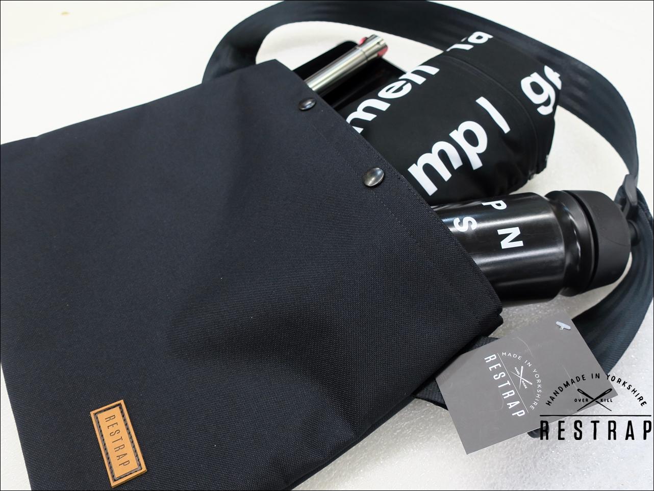 Grey Restrap Musette Bag