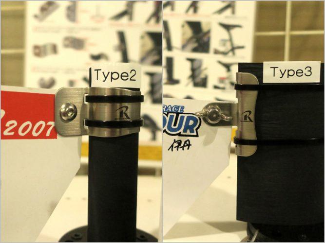 タイラップで簡単に固定できるゼッケンホルダー