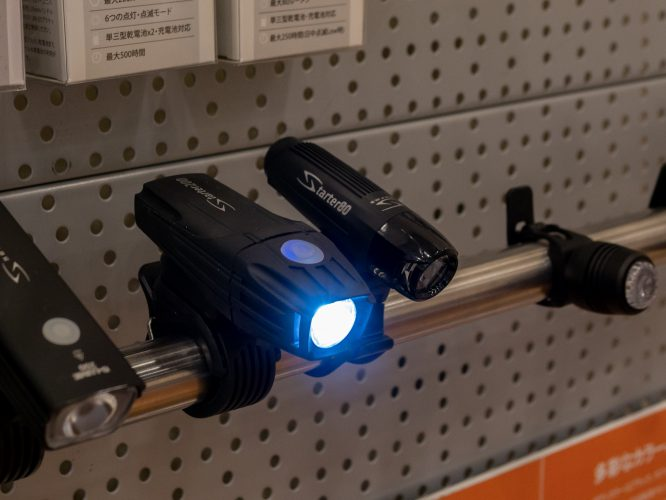 乾電池で長時間使えるSERFASライト