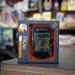初めてのメーターに最適、GPS内蔵Bryton Rider15
