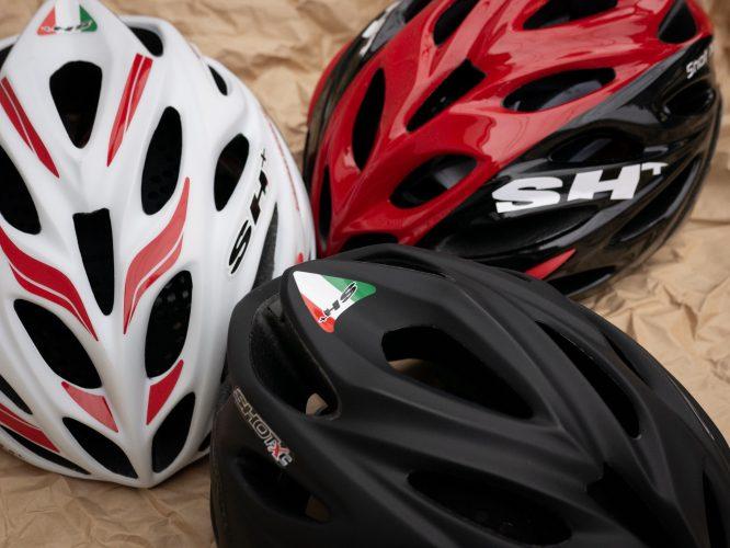 SH+ヘルメット取扱い再開しました