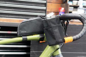 ロングライドに便利なトップチューブバッグ&ステムバッグ