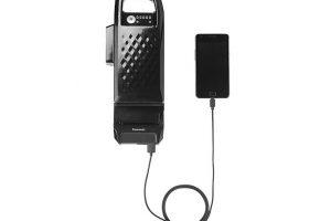 Panasonic製電動自転車バッテリーから給電可能になるアダプター