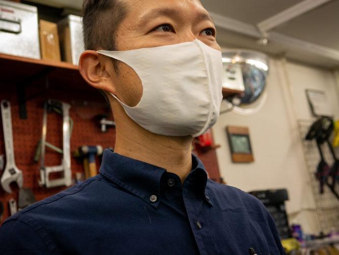 夏でも快適なマスク~氷撃エチケットマスク